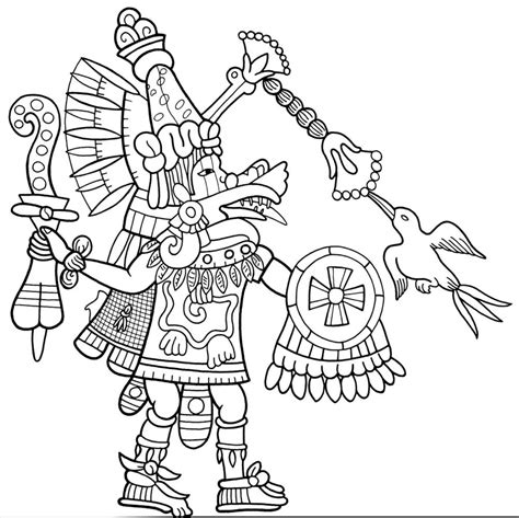 Pin Aztec Coloring Page On Pinterest Aztec Coloring Pages