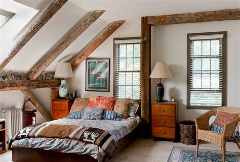 Bedroom Decorating Ideas Eclectic Charming Attic Master Bedroom In Eclectic Boho Chic Style