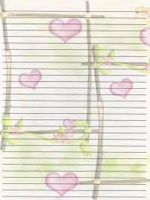 Printable Valentine Writing Paper 7 Best Images Of Free Printable Journal Writing Paper
