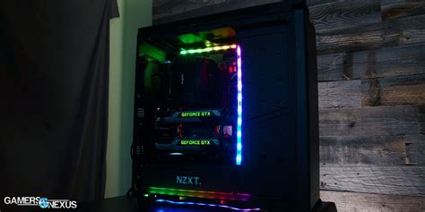 Special Edition Lu Led Rgb nzxt hue rgb led controller lighting review gamersnexus gaming pc builds hardware