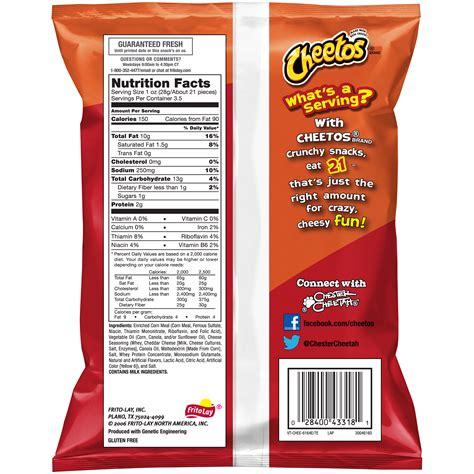 hot chips ingredients cheetos hot fries ingredients