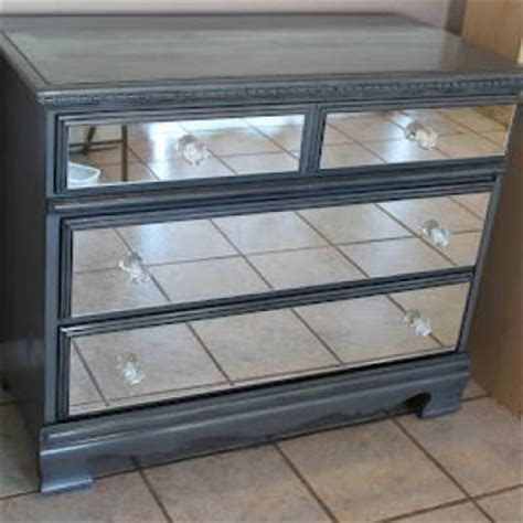 How To Make A Mirror Dresser by Diy Mirrored Dresser Armoires Cabinets Tip Junkie