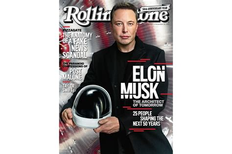 elon musk rolling stone elon musk named one of quot 25 people shaping the next 50