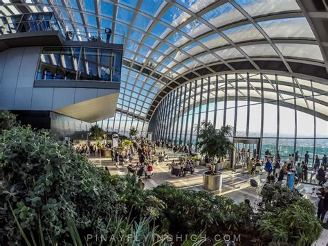 Sky Garden free things to do in a cuppa at the sky