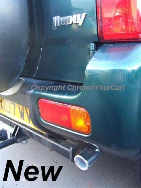 Suzuki Jimny Exhaust Suzuki Jimny Exhaust Pipe Chrome Trim Ebay