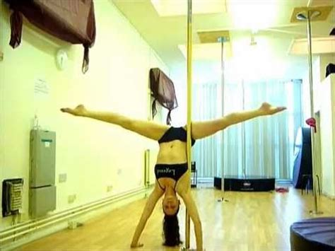 tutorial dance one more night advanced pole trick tutorial one arm scorpio handstand