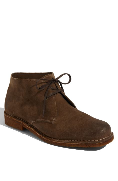 hush puppies suede shoes hush puppies 174 norco suede boot in brown for taupe burnished suede lyst