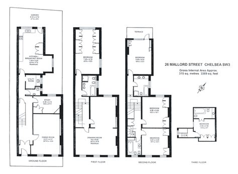 townhouse plan townhouse floor plans floor plans pinterest