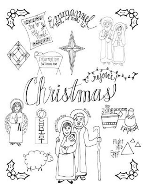coloring pictures of christmas symbols 17 best images about advent season on pinterest advent