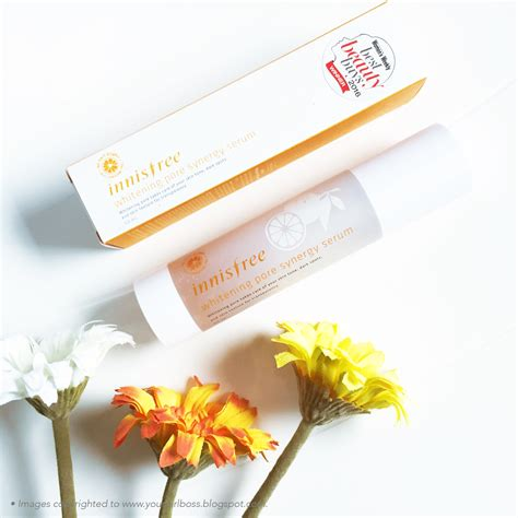Harga Innisfree Whitening Pore Synergy Serum innisfree whitening pore synergy serum review jean