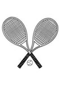 ausmalbilder tennisschl 228 ger spielsachen malvorlagen ausmalen