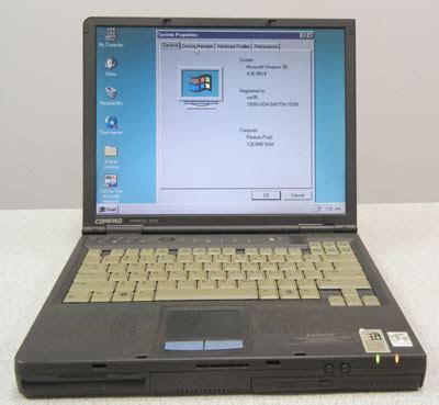 compaq armada e500 compaq armada e500 refurbished laptop with windows 95