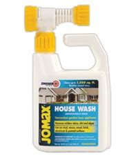 jomax house cleaner zinsser jomax house wash mildew stain remover