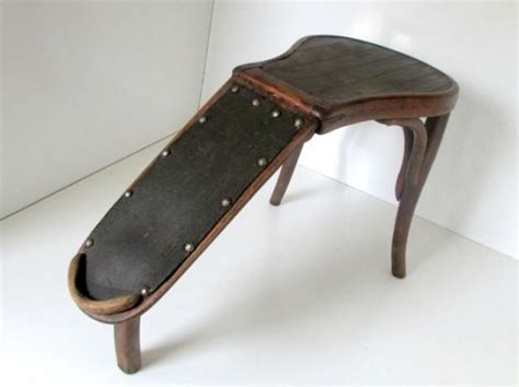 Shoe Stool by Bentwood Antique Foot Stool Jacob Josef Kohn 19th C Shoe