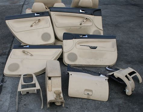 Volkswagen Interior Parts by Vw Passat Saloon B5 5 Leather Seats Front Rear