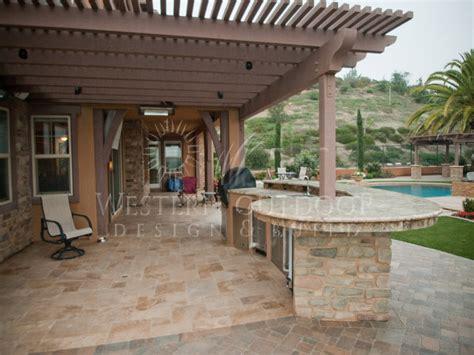 backyard flooring ideas paver outdoor kitchen outdoor patio flooring ideas