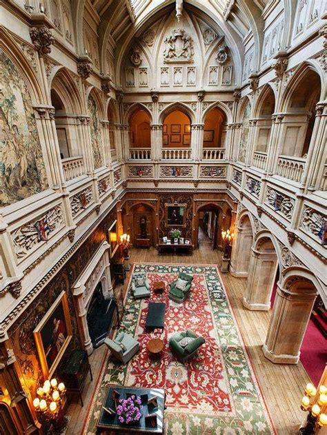 houses of state highclere castle downton photos