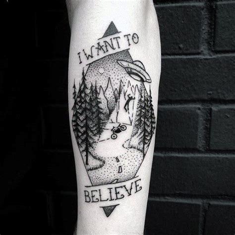 x files tattoo ideas 50 i want to believe tattoo designs for men x files