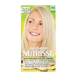 Toner Garnier White garnier nutrisse level 3 permanent hair creme light ash 111 white chocolate