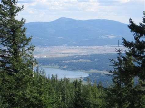 hauser idaho hauser id viw of hauser lake from the mountains photo