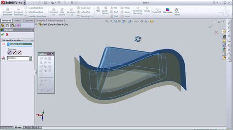 tutorial solidworks animation pdf 27 solidworks surface tutorial thicken surface youtube