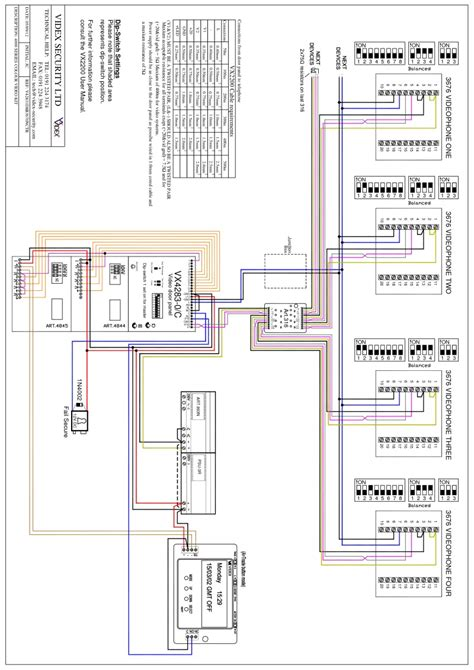 wiring diagram for bpt intercom