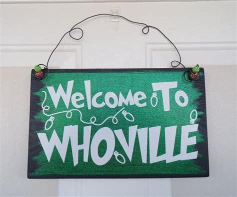 welcome to whoville and outside decorations on 1000 images about all about the grinch on