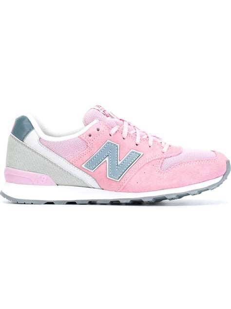 new balance 966 sneakers in pink lyst
