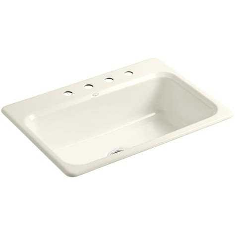 kohler bakersfield top mount cast iron 31 in 3