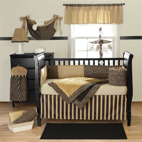 Cheetah Print Crib Set by Animal Print Baby Bedding Go In Your Baby S Nursery