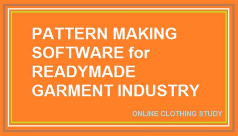 pattern making business garment pattern making software for your clothing business