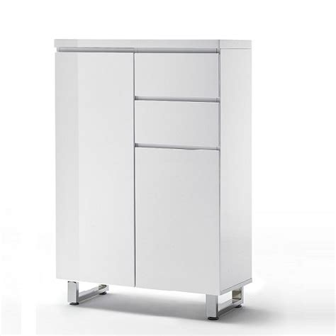 2 door shoe cabinet sydney 2 door shoe cabinet in high gloss white with 2
