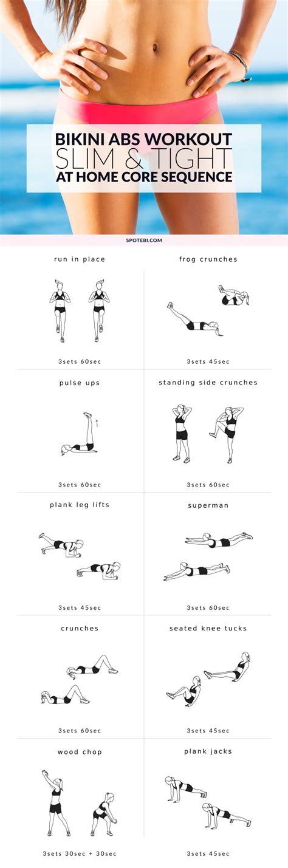 home bikini abs workout