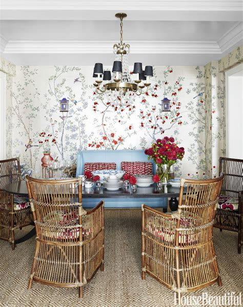 park avenue apartment shocks with stunning wall mural chinoiserie chic the chinoiserie dining room