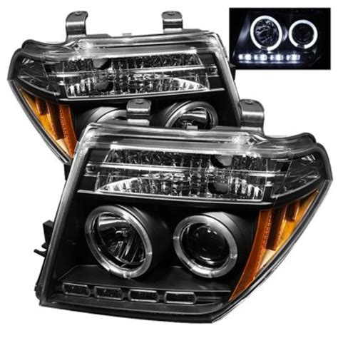 nissan pathfinder 2005 2007 black dual halo projector
