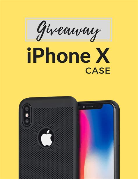Free Iphone X Giveaway - iphone x case giveaway case plus