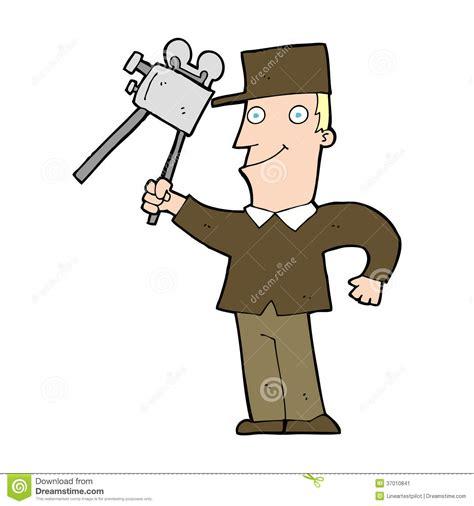 cartoon film creator cartoon film maker stock image image 37010841