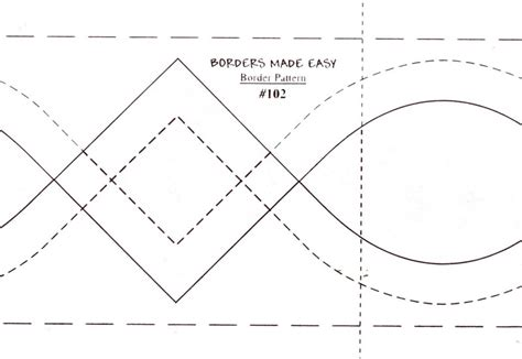 Quilting Borders Made Easy by Borders Made Easy Pattern 102 From Quilting Made Easy