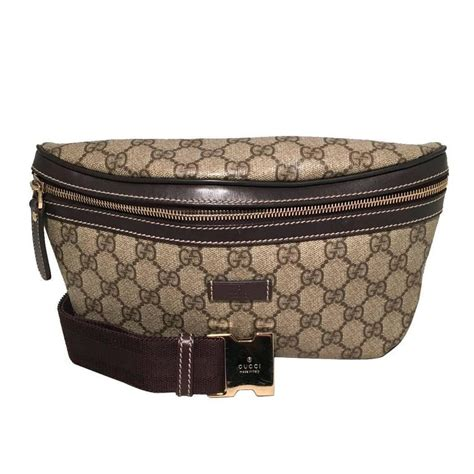 gucci monogram canvas belt bag fanny bag waist bag