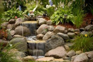 aquascape your landscape the sound of waterfalls