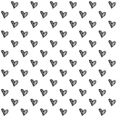 black and white heart pattern wallpaper рамка png avatan plus