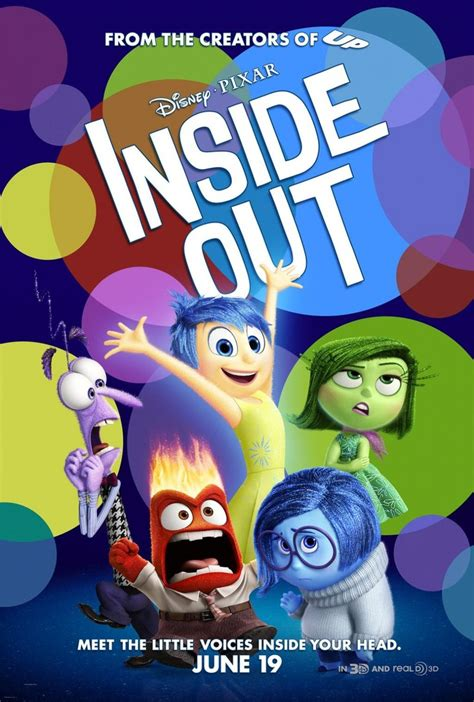 Inside Out DVD Release Date November 3, 2015
