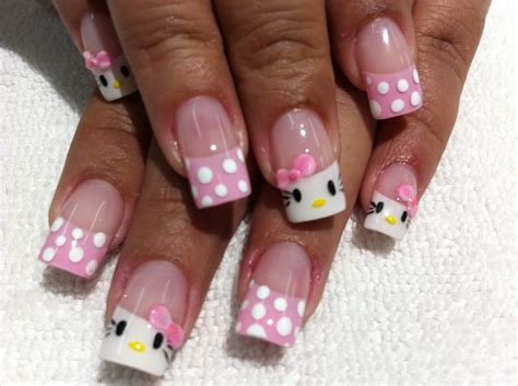 Imagenes Uñas De Hello Kitty | u 241 as decoradas de hello kitty u 241 as decoradas