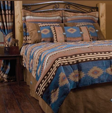 Jj75032 Size L By Be Style western southwest bedding set king