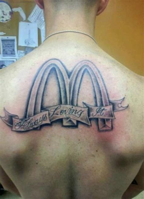 mcdonalds tattoo 17 of the worst fast food tattoos you ll find on actual