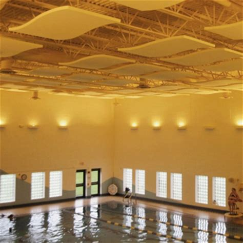sound barrier for pool indoor pools soundproofing memtech acoustical