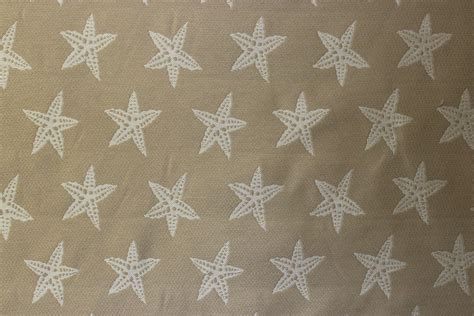 starfish upholstery fabric starfish sand 102 the fabric mill