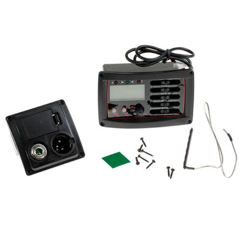 Pre Lifier Gitar Eq Tuner 201eq acoustic guitar tuner set with 4 band equalizer pre piezo
