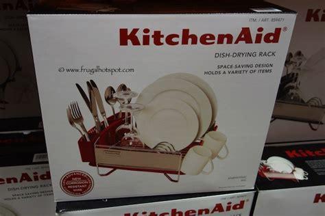 Dish Rack Costco by Costco Sale Kitchenaid Compact Dish Drying Rack Frugal Hotspot