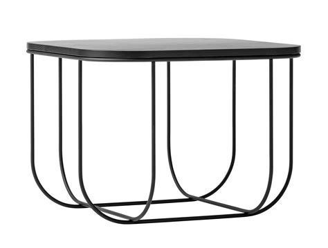 cage table cage coffee table storage h 30 cm black by menu